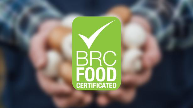 BRC AA++ Accreditation Certification Logo