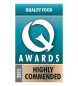 Q Awards – Highly Commended Quality Food